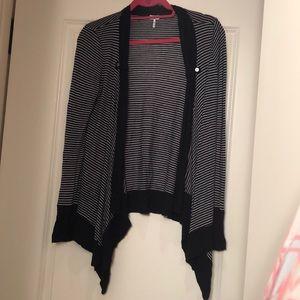 Splendid open front sweater